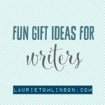friday favs: fun gift ideas for writers