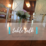 {table talk} the importance of showing up to work