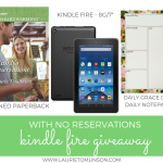 With No Reservations Kindle Fire Giveaway!