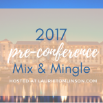2017 ACFW conference mix & mingle
