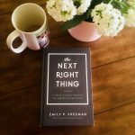 the next right thing {giveaway}